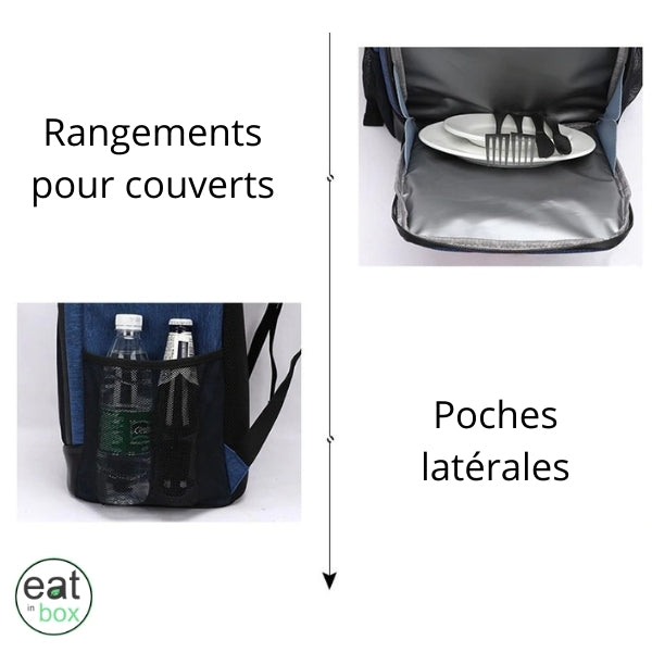 Sac a Dos Isotherme Oxford Gris