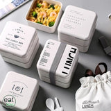 Bento box lunch kit