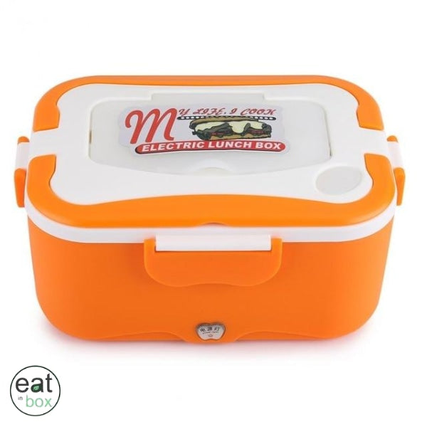 Gamelle Lunch Box Chauffante Orange - Orange / 24V