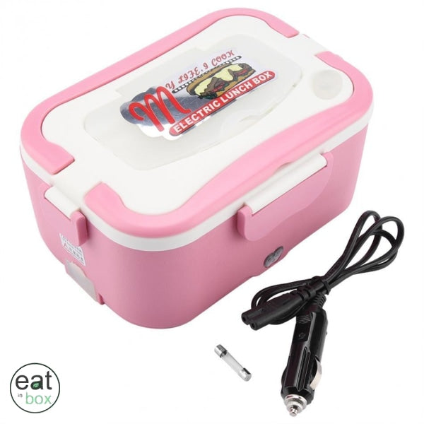 Gamelle Lunch Box Chauffante - Rose / 12V