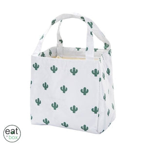 Lunch Bag Femme Blanc Cactus
