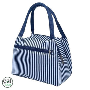 Lunch Bag Femme Rayures Bleues