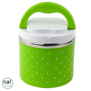 Lunch Box Inox Ronde A Pois