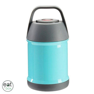 Lunch Box isotherme Inox Bleue - 450ml