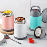Lunch Box isotherme Inox Bleue