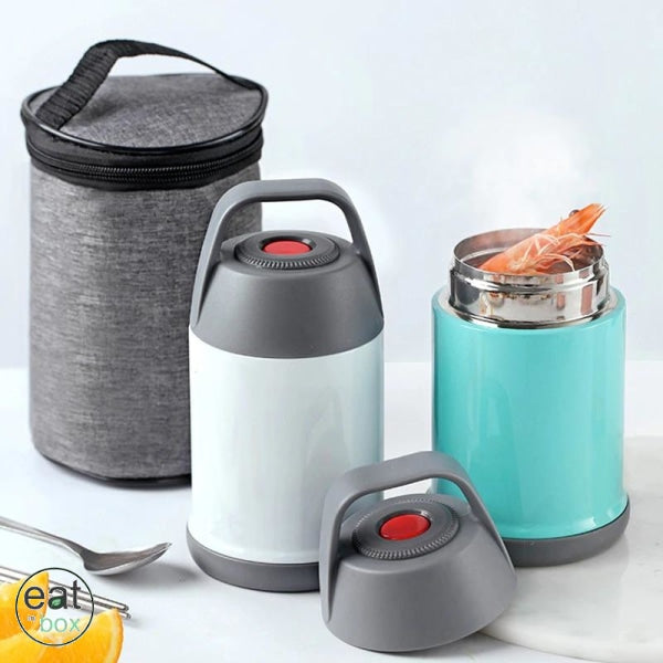 Lunch Box isotherme Inox Rose