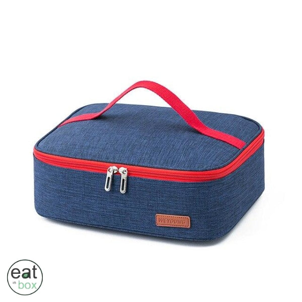 Sac Lunch box Bleu Rouge