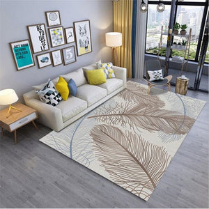 Soft Feather Style Rug