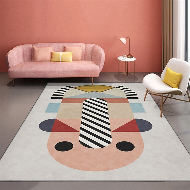 Asian Pink Collection Rug