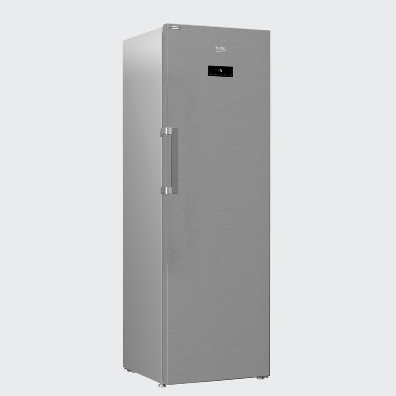 Beko Freezer Side by Side Stainless Steel 186cm RFNE312E43XN - Freezers - GardeniaHomecentre