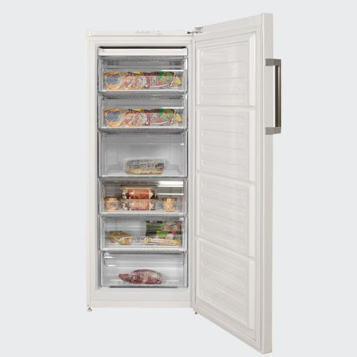 Beko Upright Freezer 6 Drawer  RFSA240M23W - Freezers - GardeniaHomecentre