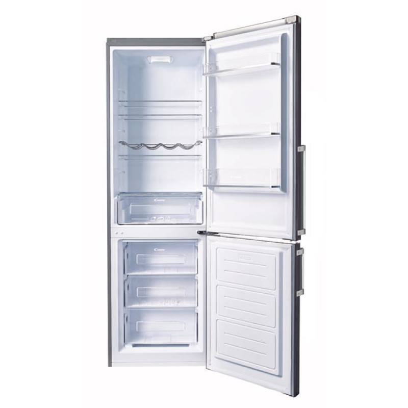 Candy  Fridge Freezer Black CMGN6182B - Fridge/Freezers - GardeniaHomecentre