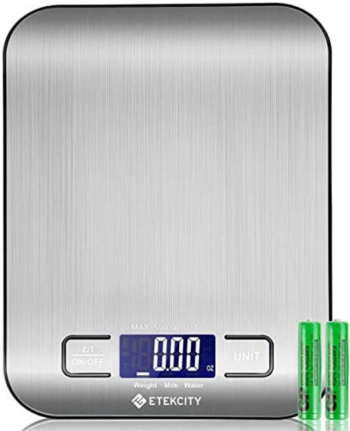 Etekcity Kitchen Scale Silver EK6020-RAV - Small Appliances - GardeniaHomecentre