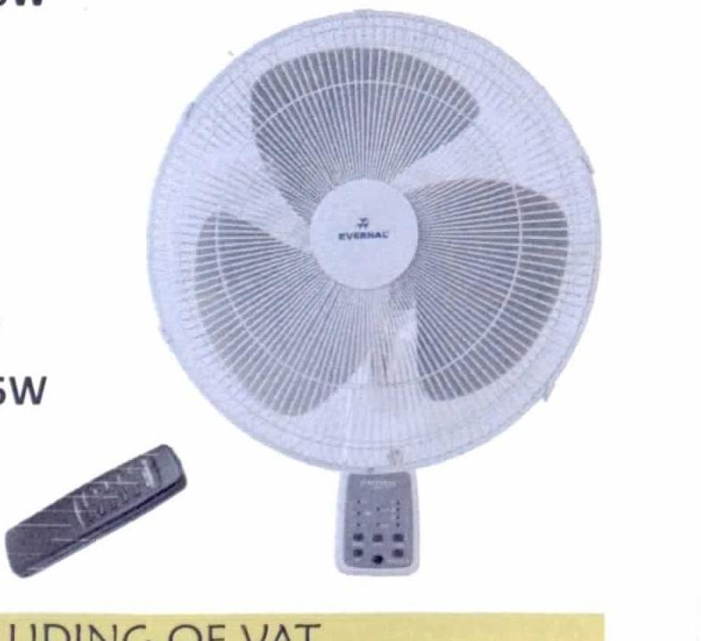 Evernal Wall Fan 16inch With Remote Control and Timer - Fans - GardeniaHomecentre