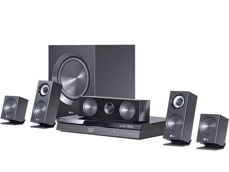 LG 3D Blu-Ray 5.1 Channel Home Cinema System with LG Smart TV  BH7220B - DVDs - GardeniaHomecentre