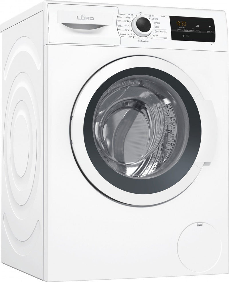 LORD 8KG Inverter 1400rpm Washing Machine W1 - Automatic Washing Machines - GardeniaHomecentre
