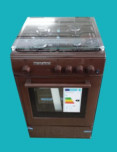 Parker's 50x50 Gas Cooker CBR 5050 Brown - Cookers - GardeniaHomecentre