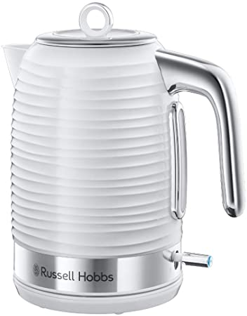 Russell Hobbs Inspire Pop Up 4 Slice Toaster White 24380 - Small Appliances - GardeniaHomecentre