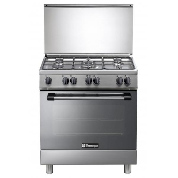 Tecnogas Oven 80x50cms Inox  L855BXV - Cookers - GardeniaHomecentre