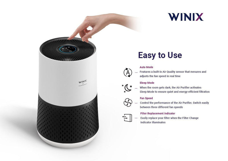 Winix Zero Compact (50m2) Air Purifier - Air Purifiers - GardeniaHomecentre
