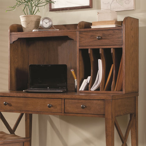Liberty Furniture Hearthstone Ridge Writing Desk Hutch