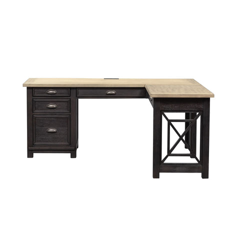 Liberty Furniture Heatherbrook L Writing Desk Base