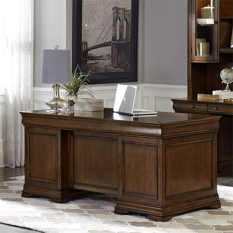 Liberty Furniture Chateau Valley Jr Executive Desk Top
