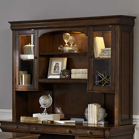 Liberty Furniture Chateau Valley Jr Executive Credenza Hutch