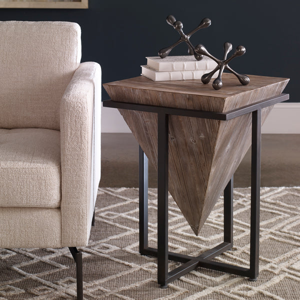 Uttermost Bertrand Wood Accent Table