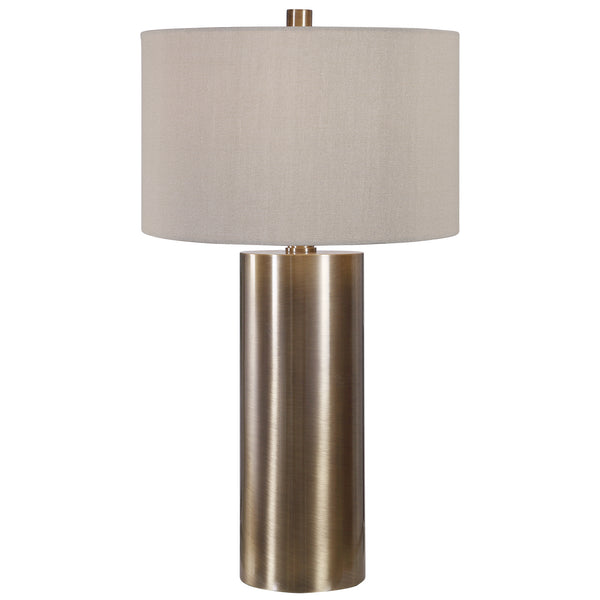Uttermost Taria Brushed Brass Table Lamp