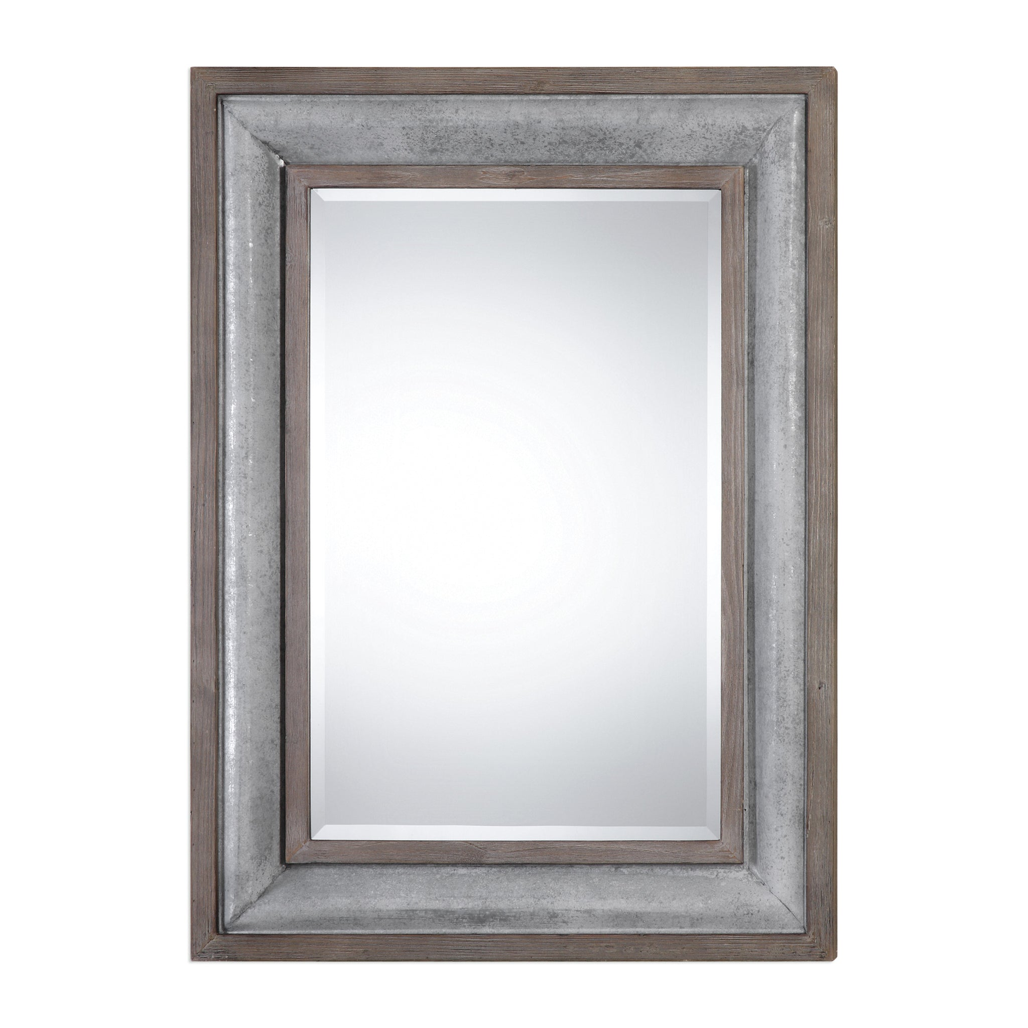 Uttermost Selden Steel Mirror