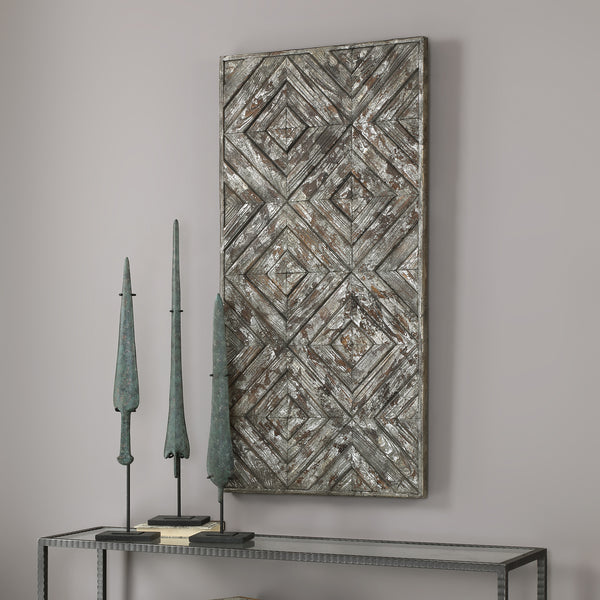 Uttermost Roland Wood Panel