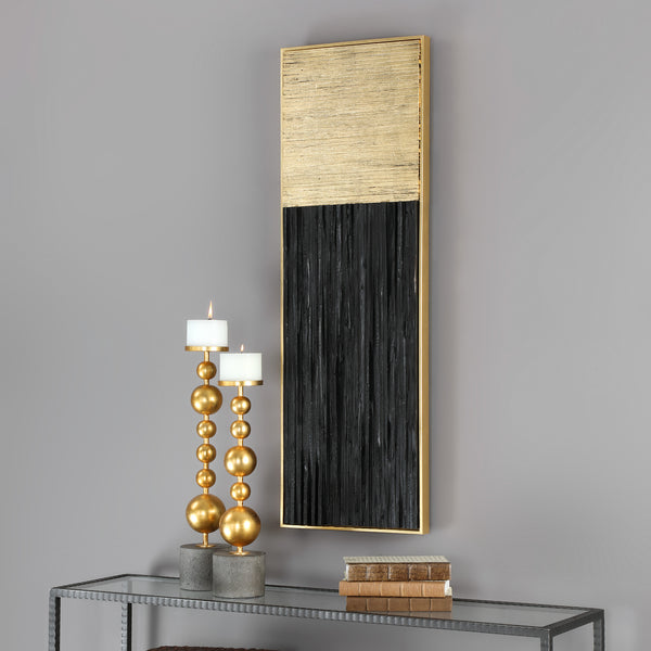 Uttermost Pierra Gold Leaf Wall Art