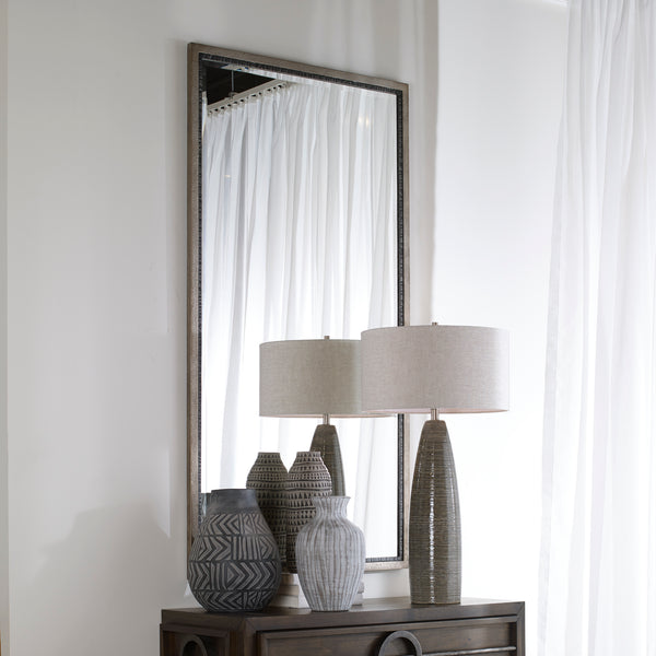 Uttermost Theo Oversized Industrial Mirror