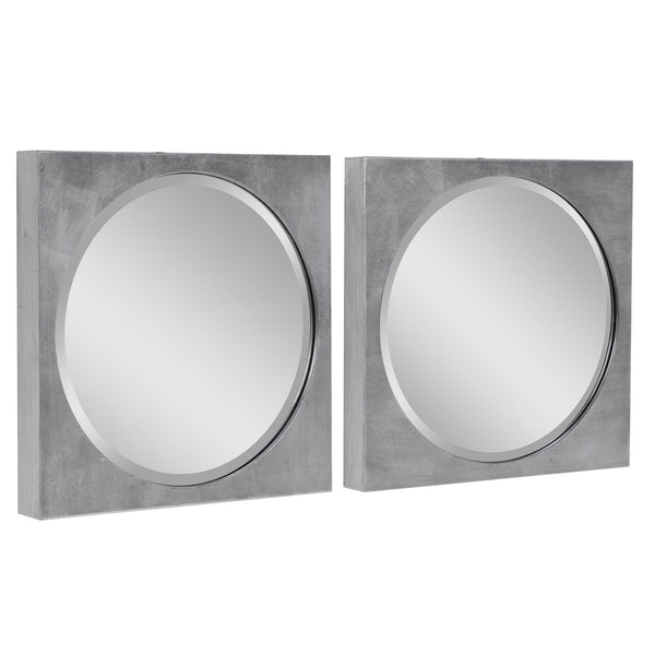 Uttermost Aletris Modern Square Mirrors, S/2