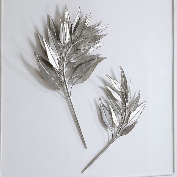 Uttermost Palm Branches Metal Wall Decor, S/2
