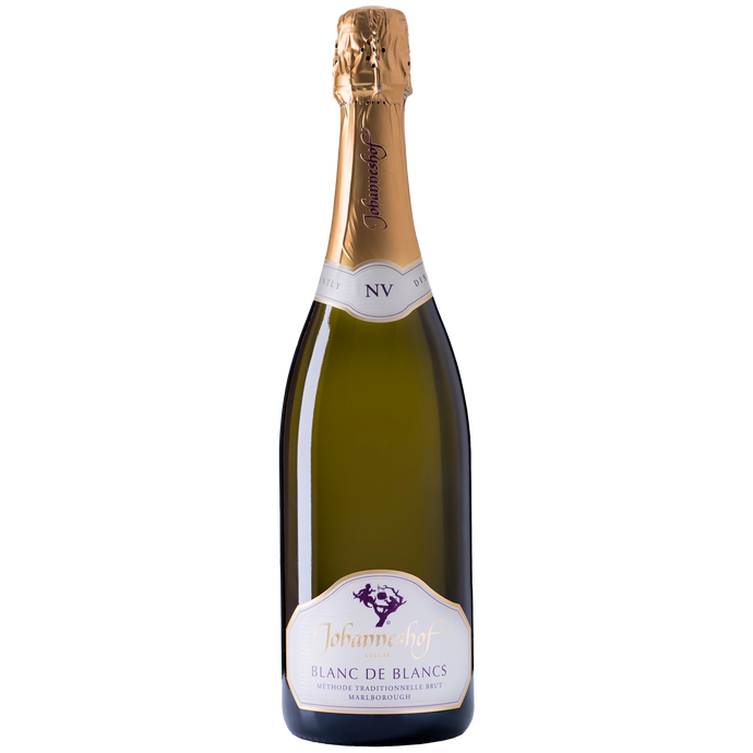 Johanneshof NV Méthode Traditionnelle  BLANC DE BLANCS Brut From Johanneshof Cellars Marlborough