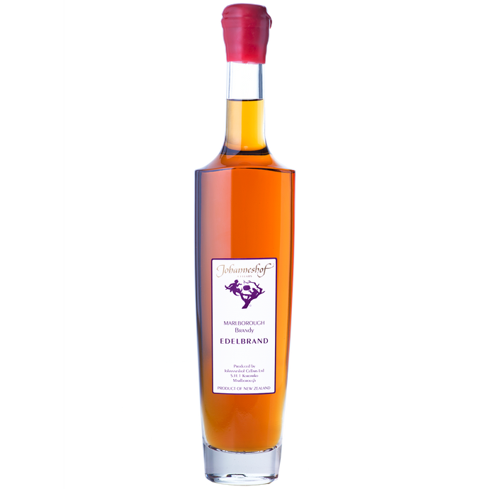 Johanneshof Edelbrand Grape Brandy 500ml From Johanneshof Cellars Marlborough