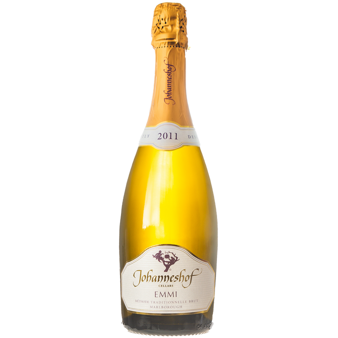 Johanneshof 2009 Méthode Traditionnelle  EMMI Brut From Johanneshof Cellars Marlborough
