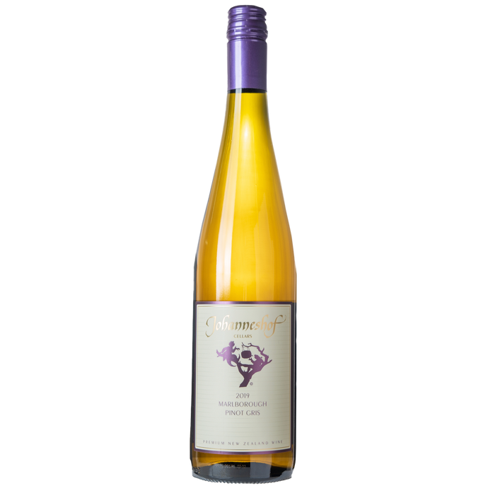 Johanneshof 2019 Pinot Gris From Johanneshof Cellars Marlborough