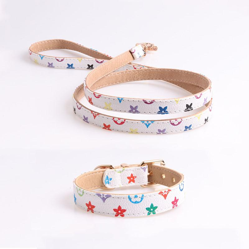 Chewy Vuitton Collar/Leash