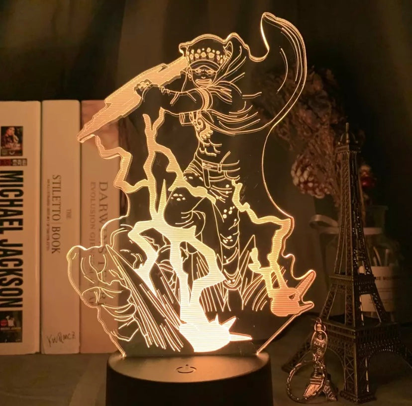 Trafalgar Law LED Lamp