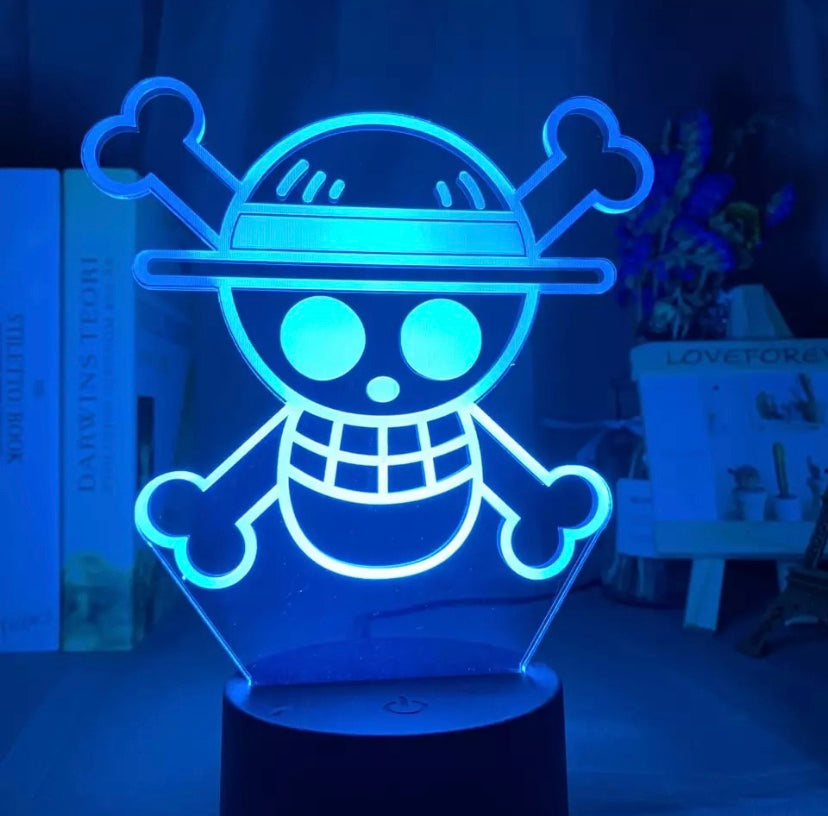 Jolly Roger LED Lamp