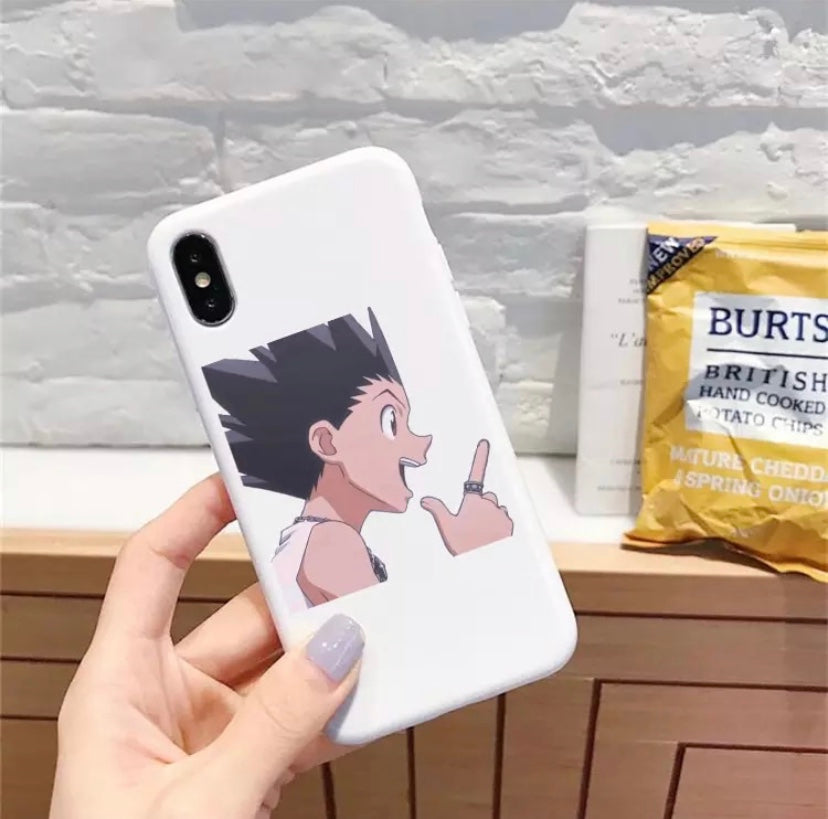 White Gon iPhone Case