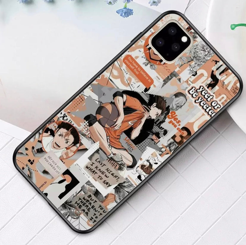 Nishinoya iPhone Case