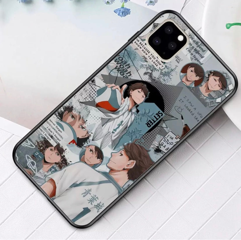 Oikawa iPhone Case