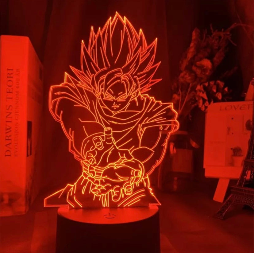 Super Saiyan Goku LED Lamp v3