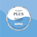 PLUS cbd balance blueberry gummies allaybox cbd subscription box boutique