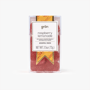 Grön Gron Raspberry Lemonade CBD Gummies AllayBox subscription box