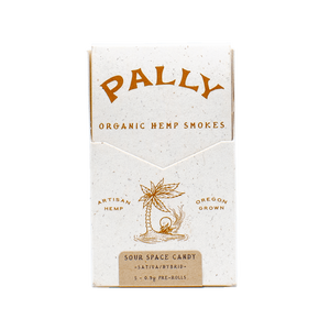 Pally Hemp Smokes Sour Space Candy AllayBox cbd subscription box boutique